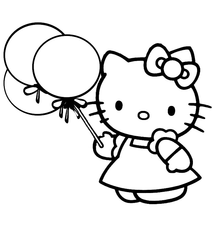Hello Kitty Coloring Games