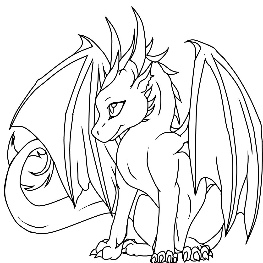 free dragon coloring pages online coloring pages