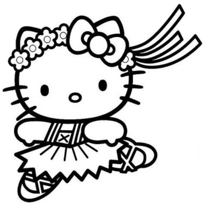 hello kitty coloring pages printable Online Coloring Pages