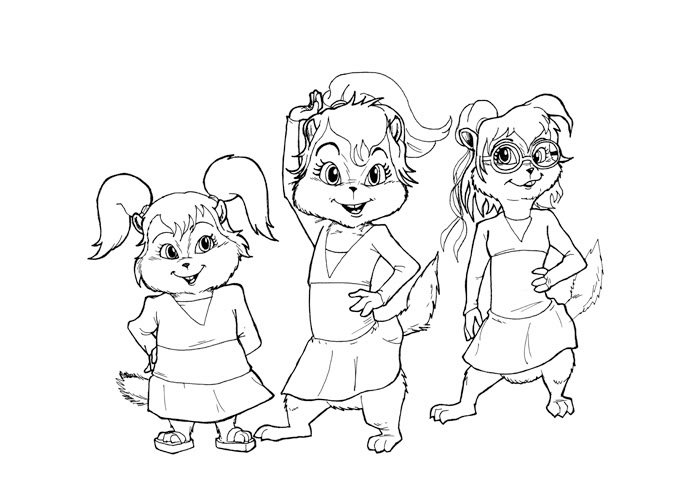 alvin and the chipmunks chipwrecked coloring pages | Online Coloring ...
