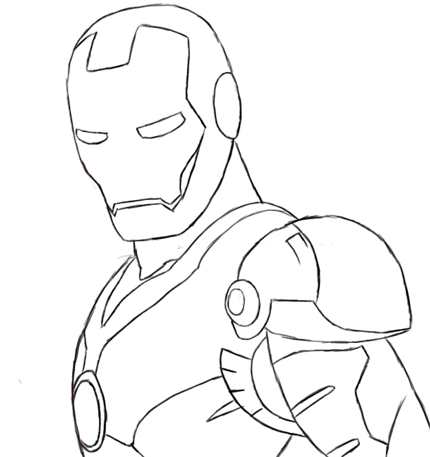 iron man coloring pages Online Coloring Pages