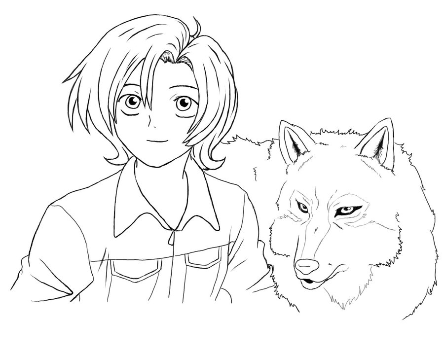 peter and the wolf coloring pages | Online Coloring Pages