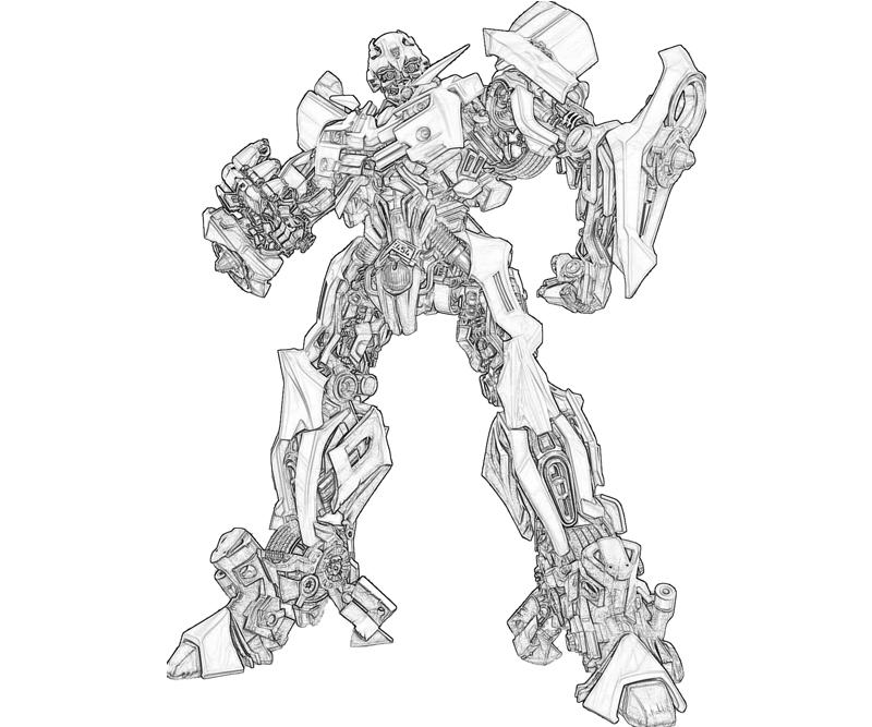 bumblebee transformer coloring pages online coloring pages
