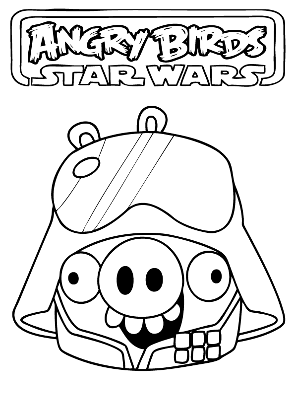 Angry Birds Star Wars Coloring Pages | Download Angry Birds Star ... | 842x595